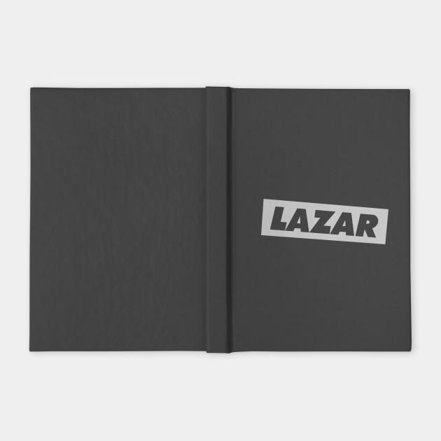 LazarBeam Logo Light Grey
