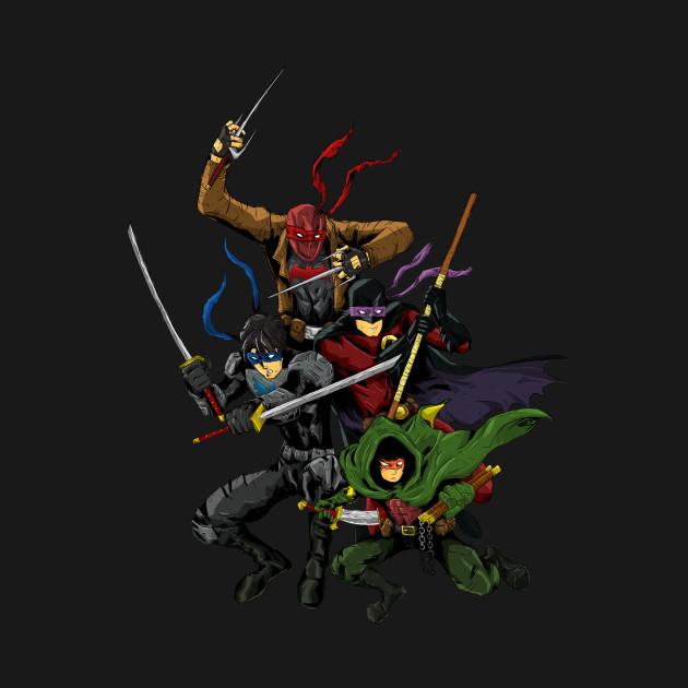 Teenage Mutant Ninja Robins