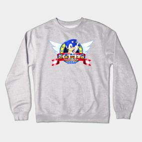 Sonic Crewneck Sweatshirts Teepublic