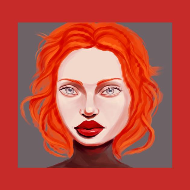 Redhead girl portrait