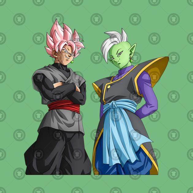 Goku Black and Zamasu