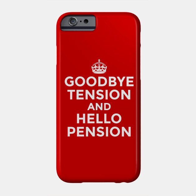 huge discount 21b40 14721 Goodbye Tension & Hello Pension (Red)