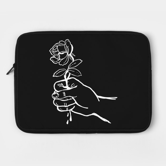 Flor en mano