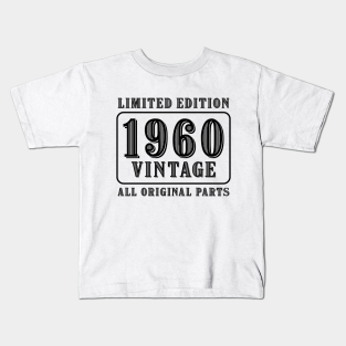 Sixties Child 1968 Birthday T shirt