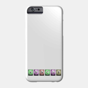 nerds club in chemical elements... Phone Case