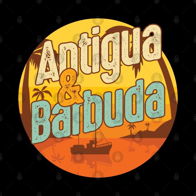 National Pride Patriotic Antiguan Antigua Barbuda Country Travel Gift