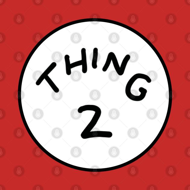 Thing 2 Dr Seuss Siblings