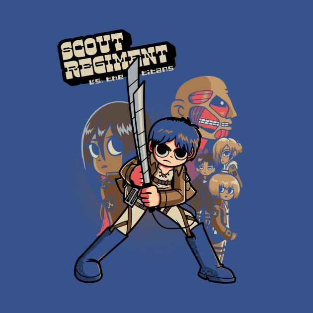 Scout Regiment Vs The Titans