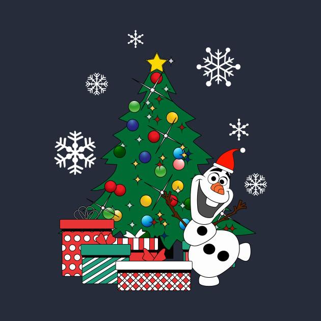 Olaf Christmas Trees.Olaf Around The Christmas Tree Frozen
