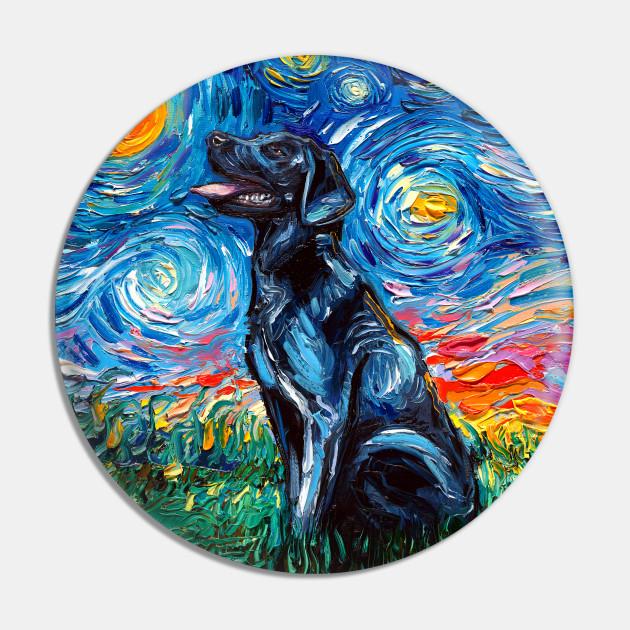 Black Labrador Night