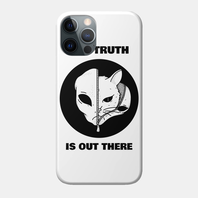 Truth is out there - Cat in Alien Disguise Funny Cat Lover Gift