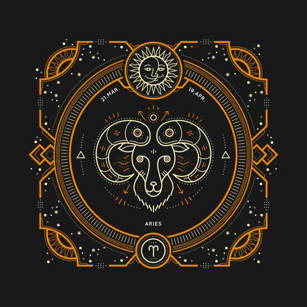 Aries Sacred Symbol