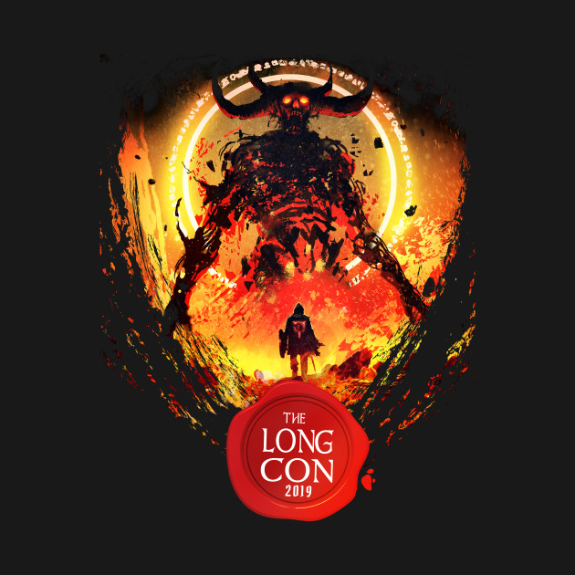 2019 The Long Con - Official Unofficial T-shirt