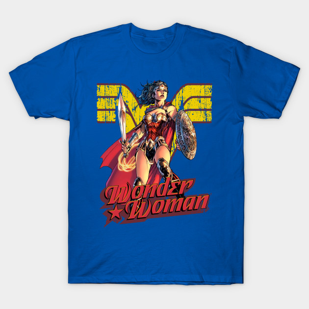 DC Comics Wonder Woman Amazon Graphic T-Shirt