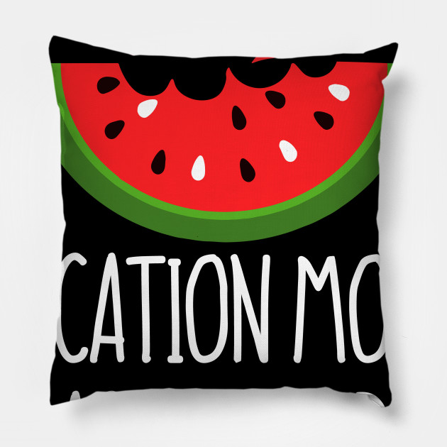 61be73ea5 Funny Watermelon Summer Break Gift Shirt - Vacation Mode: Activated Pillow