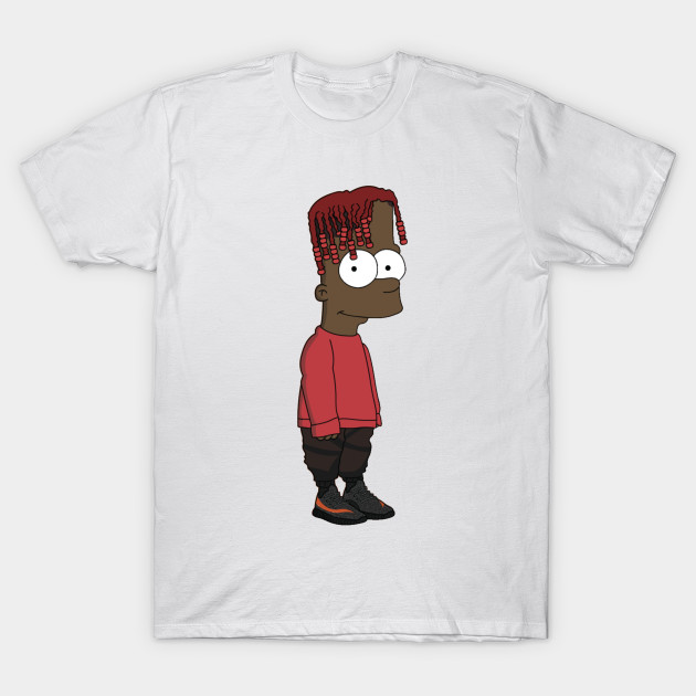 Bart simpson lil yachty T-Shirt-TOZ