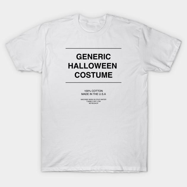 4dc7213fcf1 Generic Halloween Costume - Generic - T-Shirt