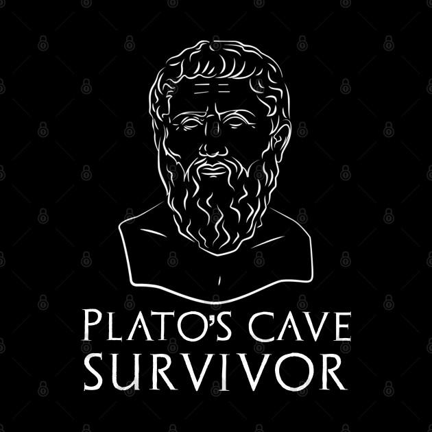 Plato's Cave Survivor - Funny Classical Greek Philosophy