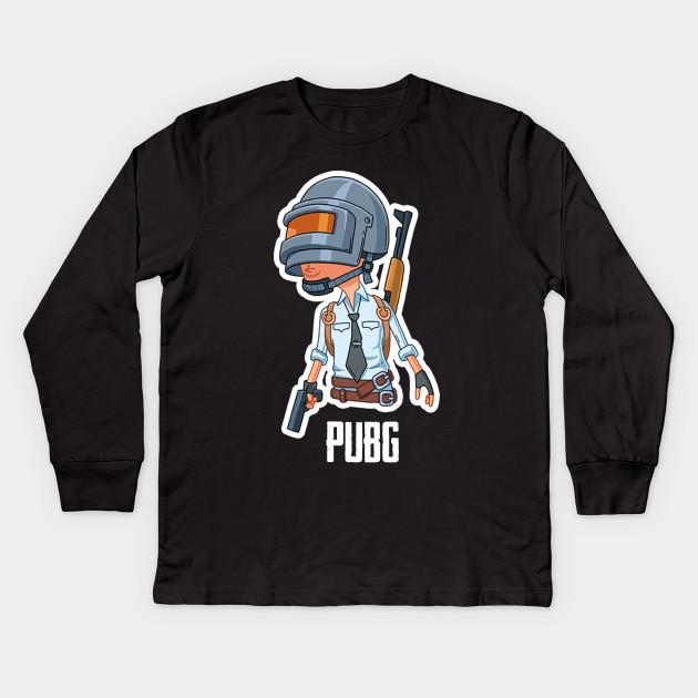 pubg gaming gamer fortnite battle royale - Pubg - Camiseta de Manga ... ec655ab0fa08b