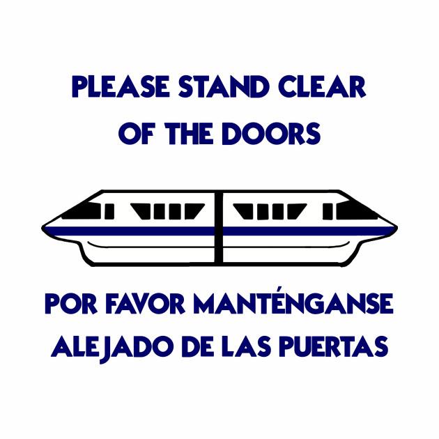 Monorail Warning: Blue