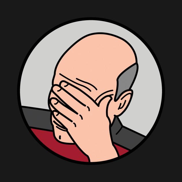 Epic Facepalm Picard