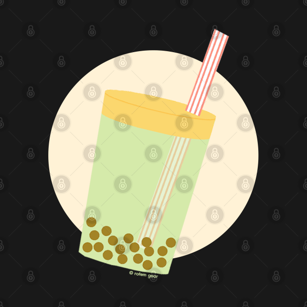 Boba Cup with Moon