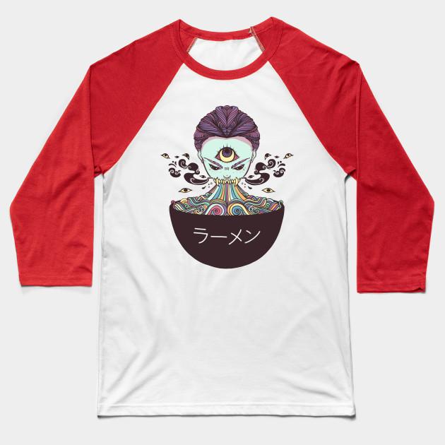 6f06dc126 Magic Rainbow Ramen Noodle Anime Art - Ramen Noodles - Baseball T ...