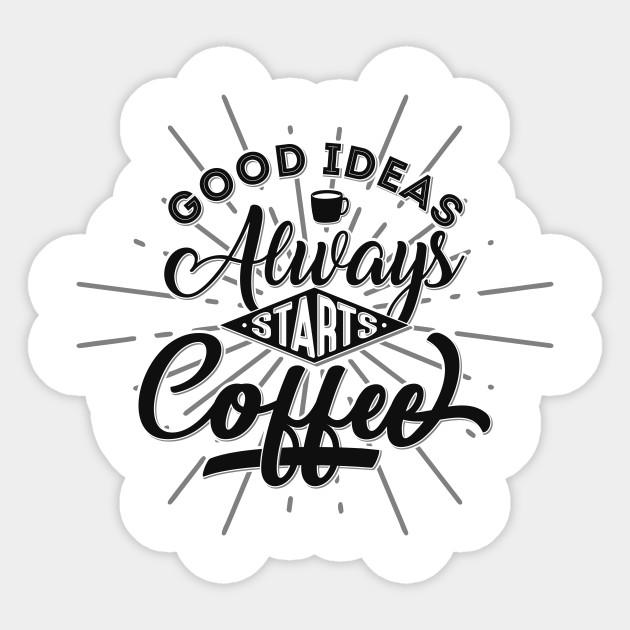 coffee typography quotes