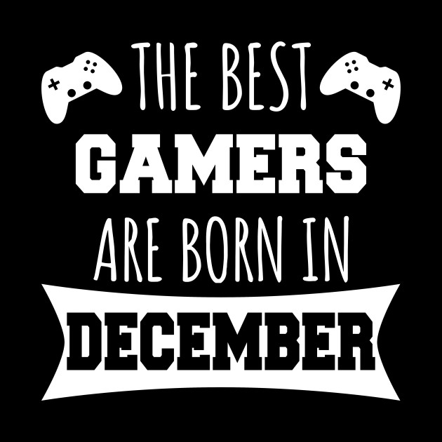 The best gamers are born in December