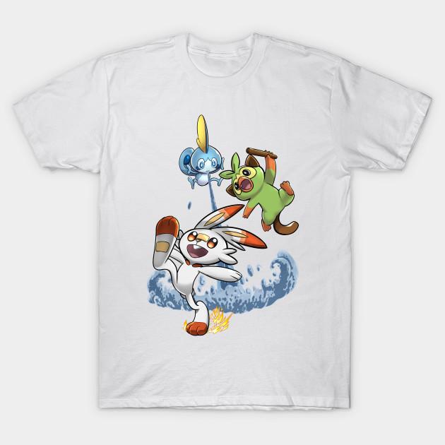 Pokemon Sword And Shield Pokemon T Shirt Teepublic