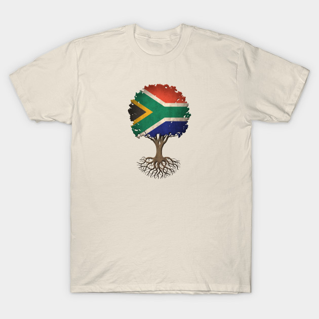 Republic of South Africa Flag South African Pride Mens V-neck T-shirt