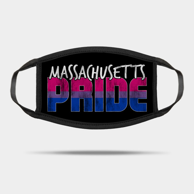 Massachusetts Pride Bisexual Flag