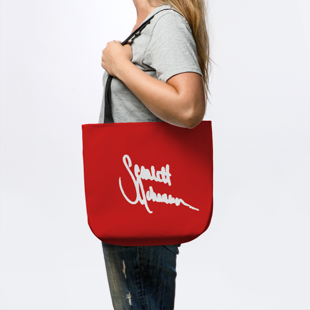 Scarlett Johansson's signature
