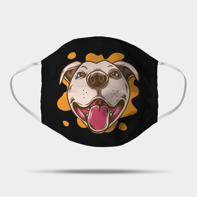 Cute Happy Pitbull Dog Lovers Gift - Happy American Pitbull Terrier Lovers