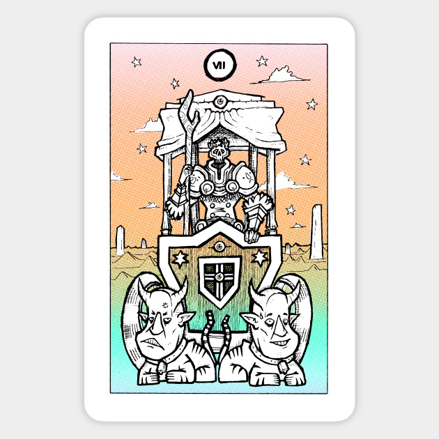 Rainbow Tarot The Chariot