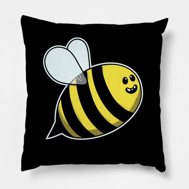 Baby Bee Wasp Cute And Cuddly Insect Bumblebee Animals Bee Pillow Teepublic