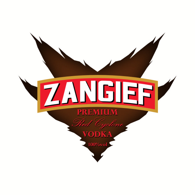 Zangief - Premium Red Cyclone Vodka