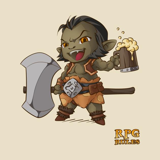 RPG Rules. Barbarian