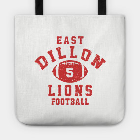 East Dillon Lions Football Jersey Coach Taylor T Shirt