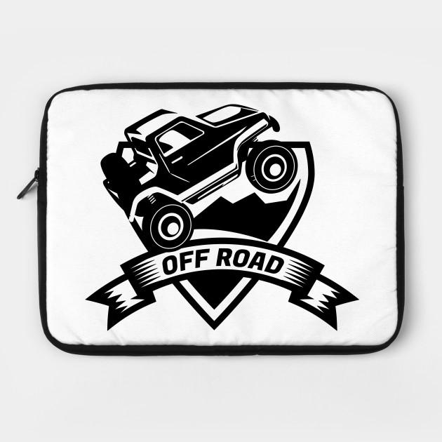 Off Road Car Logo Off Road Laptop Case Teepublic
