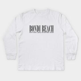 e5570adbd6 Bondi Beach Kids Long Sleeve T-Shirts | TeePublic