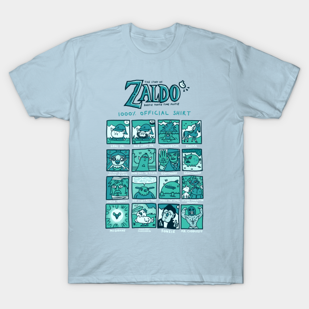 Zaldo: Rootie Tootie Time Flutie 1000% Official Shirt