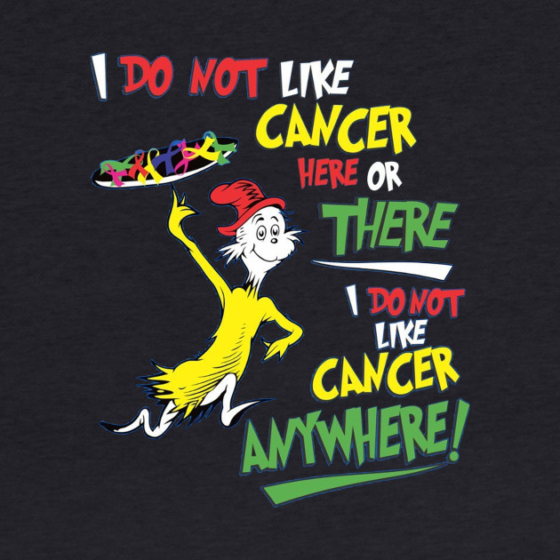 I do not like cancer here or there. i do not like cancer anywhere