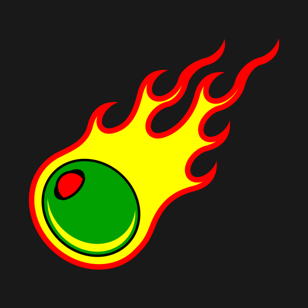 Flaming Olive