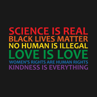 Human Rights & World Truths t-shirts