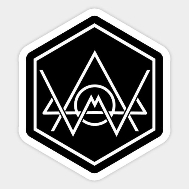 Alans Walker Logo Alan Walker Logo Sticker Teepublic