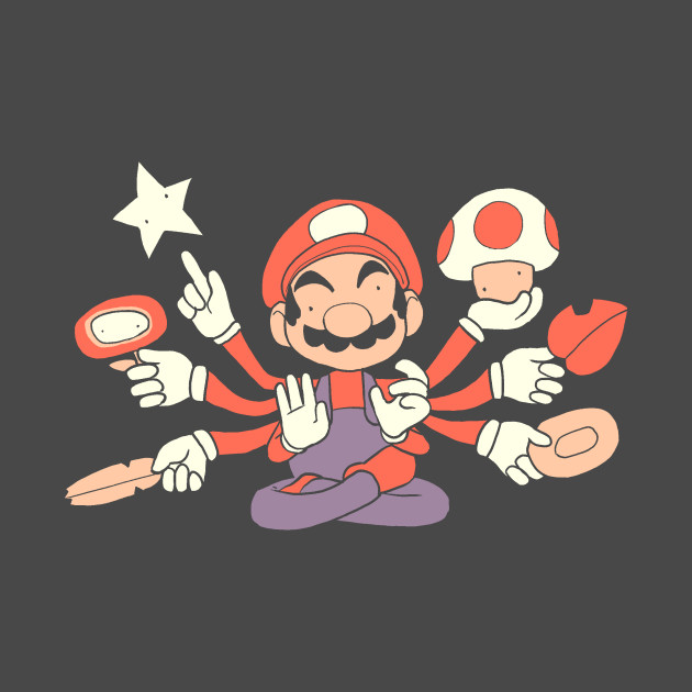God of the Mushroom Kingdom