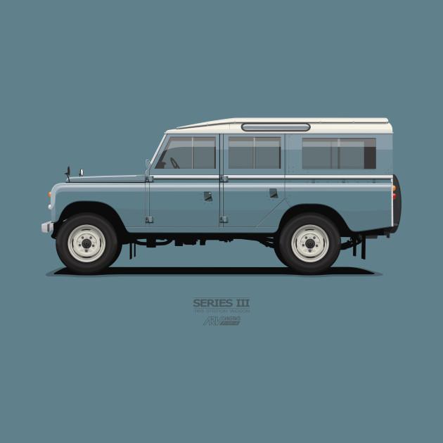 Series 3 Station Wagon 109 Marine Blue - Land Rover ...