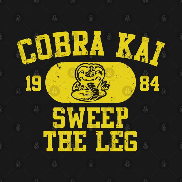 Cobra Kai Vintage Tee (Cobra)