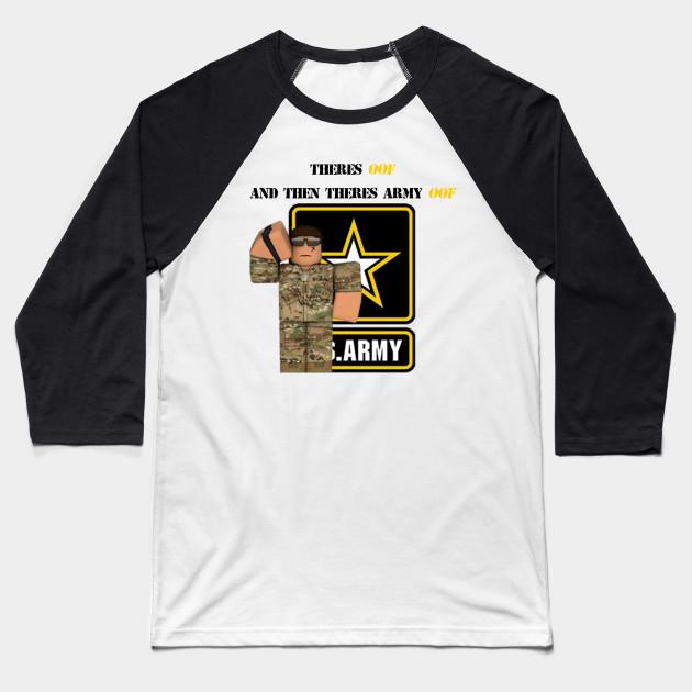 Support Shirt Roblox Roblox Army T Shirt Roblox Baseball T Shirt Teepublic